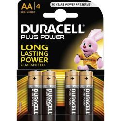 Duracell Plus Alkaline MN1500 size stilo AA LR06 Blister 4 pezzi, confezione da 20 Blister