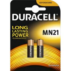 Duracell Plus Alkaline MN21 size 12V  3LR50 Blister 2 pezzi, confezione da 10 Blister