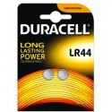 LR44 1,5V Duracell Plus Alkaline, Blister 2 pezzi  (V13GA / A76)