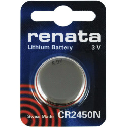 Batteria al Litio Renata CR2450N 3V Blister singolo