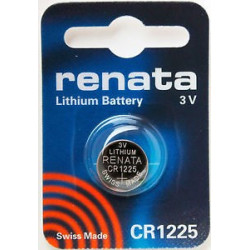 Batteria al Litio Renata CR1225 3V Blister singolo