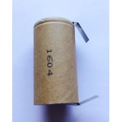 Batteria ricaricabile SANYO/PANASONIC Ni-Mh Sub C 1,2V 3Ah