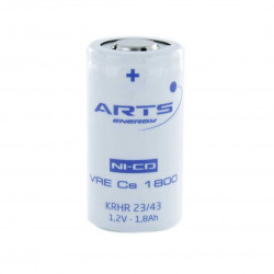 Batteria ricaricabile SAFT/ARTS VRE Cs 1800 NI-CD 1,2V 1800mAh