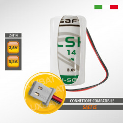 Batteria al Litio SAFT LSH14 3,6V 5,8Ah compatibile SAET IS