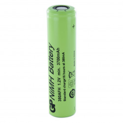 Batteria Ricaricabile Ni-Mh GP380AFH 1,2V 3800mAh size 7/5AF GP BATTERIES