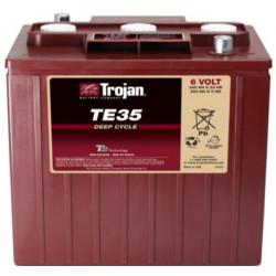 TROJAN TE35 6V 245Ah (C20) Batteria al Piombo per uso ciclico TE35, Terminali tipo 8
