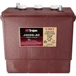 TROJAN J305G AC 6V 315Ah (C20) Batteria al Piombo per uso ciclico J305G AC, Terminali tipo 7