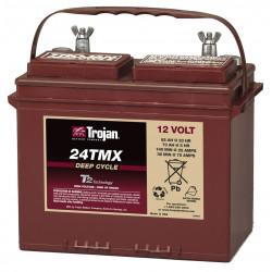 TROJAN 24 TMX 12V 85Ah (C20) Batteria al Piombo per uso ciclico 24 TMX, Terminali tipo 5