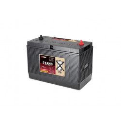 TROJAN 31 XHS 12V 130Ah (C20) Batteria al Piombo per uso ciclico 31 XHS, Terminali tipo 11