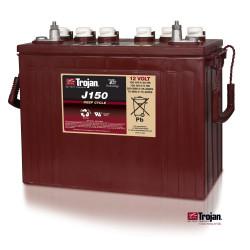 TROJAN J150 12V 150Ah (C20) Batteria al Piombo per uso ciclico J150, Terminali tipo 1,2