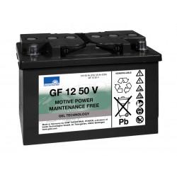 SONNENSCHEIN GF 12-050V 12V 50Ah (C5) 55Ah (C20) Batteria al GEL trazione leggera - 700 CICLI