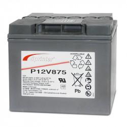 EXIDE Sprinter P12V875 12V 41Ah (C10) Batteria al piombo per UPS