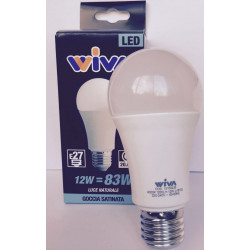 Goccia E27 12W 4000K Lampadina LED WIVA codice: 12100235