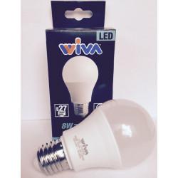 Goccia E27 8W 4000K Lampadina LED WIVA codice: 12100232
