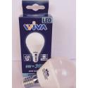 Sfera E14 6W 4000K Lampadina LED WIVA codice: 12100229
