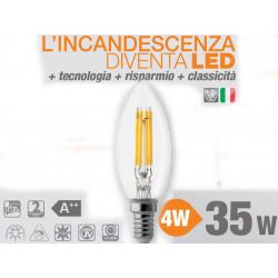 E14 4W 4000K Lampadina WIRELED WIVA OLIVA codice: 12100512