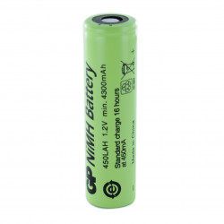 GP450LAH 1,2V 4500mAh Batteria Ricaricabile Ni-Mh size 18670 GP BATTERIES