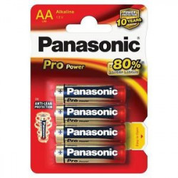 PANASONIC LR6 stilo AA blister 4pz Pro-Power, confezione da 12 blister