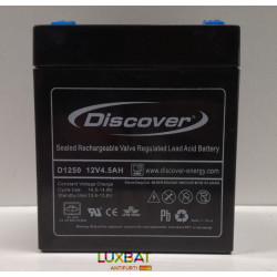 D1245  12V 4,5Ah DISCOVER Batteria Ricaricabile al Piombo