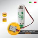 Beghelli 8131 Batteria SAFT al Litio LS14500 3,6V 2,6Ah