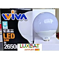 Lampadina LED WIVA globo E27 24W 4000K codice: 12100294
