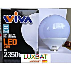Globo E27 21W 4000K Lampadina LED WIVA codice: 12100078