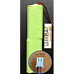OPL0020 DUEVI Pacco Batteria Ricaricabile Ni-Mh GP80AAAH4SMX 4,8V 800mAh