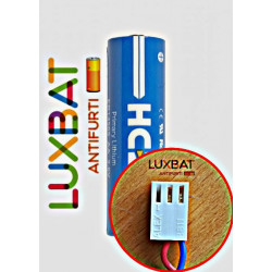 LOGISTY (BAT04) ER14505 3,6V 2.5Ah Batteria al Litio HCB - compatibile con SAFT LS14500