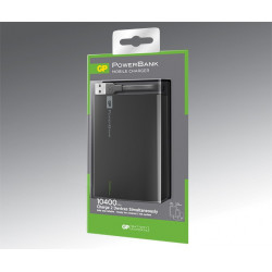 GP PowerBank GO 10400 mAh, RC10A, Black