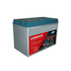 LDC6-220 LUMINOR  6V 220Ah (C20) Batteria al Piombo AGM DEEP CYCLE Terminali F12-M8