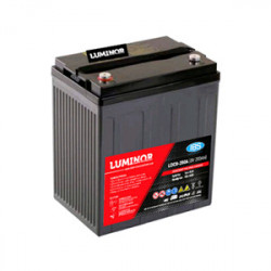 LDC8-200 LUMINOR  8V 200Ah (C20) Batteria al Piombo AGM DEEP CYCLE Terminali F12