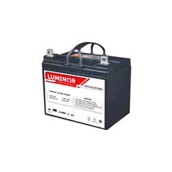 LDC12-35 LUMINOR  12V 35Ah (C20) Batteria al Piombo AGM DEEP CYCLE Terminali F11-M6