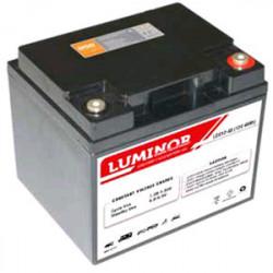 LDC12-45 LUMINOR  12V 45Ah (C20) Batteria al Piombo AGM DEEP CYCLE Terminali F11-M6