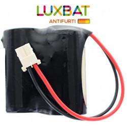 BENTEL BW-BAT891 2CR123A 6V 1,4Ah Batteria al Litio per sensore BW-IRC BENTEL