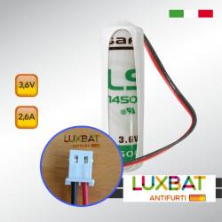 OPTEX LS14500 3,6V 2,6Ah SAFT Batteria al litio per SENSORE OPTEX