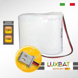 GT ALARM 2LSH20 7,2V 13Ah Batteria al litio compatibile con centrali GT ALARM