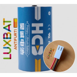 POLITEC ER34615 3,6V 19Ah HCB Batteria Litio con connettore MOLEX per POLITEC