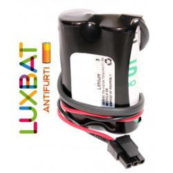 ABB 3HAC044075-001 2LS17500 7,2V 3,6Ah SAFT Batteria Litio per robot articolati