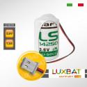 DVP-12SC11T DELTA LS14250 3,6V 1,2Ah SAFT Batteria al Litio per PLC-CNC