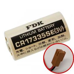 KOMO 064301-00 CR17335SE 3V 1,85Ah Batteria Litio FDK compatibile con PLC-CNC KOMO