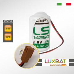MITSUBISHI ER3V-C LS14250 3,6V 1,2Ah SAFT Batteria al Litio per PLC-CNC