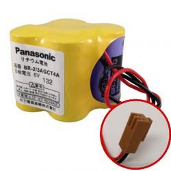 OKUMA MC500 BR-2/3AGCT4A 6V 2900mAh PANASONIC Batteria al Litio per PLC-CNC GE FANUC