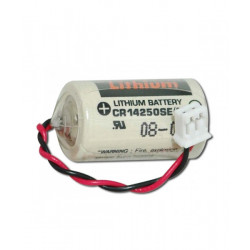 OMRON CJ1W-BAT01 CR14250 3V 850mAh FDK Batteria al Litio per PLC-CNC