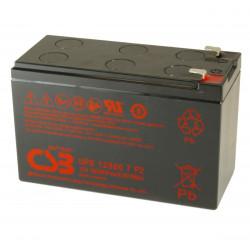 CSB UPS12360 7 F2 12V 7,2Ah Batteria al piombo per UPS APC faston 6,3 mm