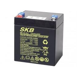 SKB 12V 5,2Ah FASTON 6,3mm Batteria Ricaricabile al Piombo per UPS APC