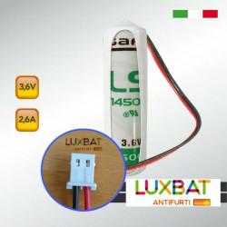 KSI7203627.000 KSENIA LS14500 3,6V 2,6Ah Batteria Litio SAFT per sensore VELUM