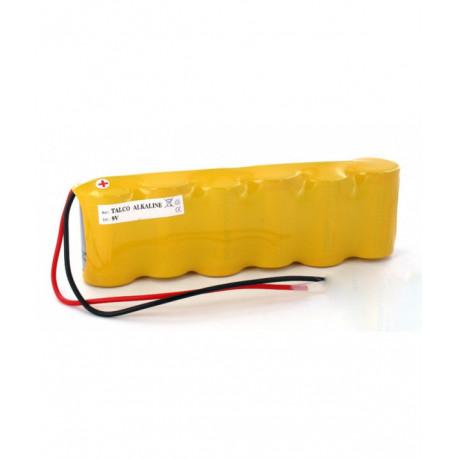 DELTA DORE Batteria Alkalina 9V 6LR20 PANASONIC per allarme TALCO