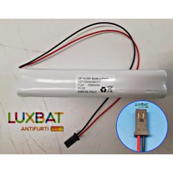 Batteria Ricaricabile NOTIFIRE 7,2V 1,5Ah Ni-Mh con connettore