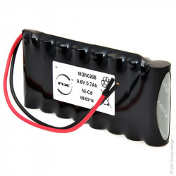 Ne hai uno da vendere? Vendine uno uguale Batteria Ricaricabile Ni-Cd ARTS 9,6V 700mAh per Porte Automatiche DORMA
