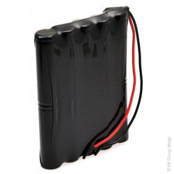 Batteria ricaricabile al Ni-Cd 12V 700mAh ARTS 10VRE AA per porte Automatiche GEZE